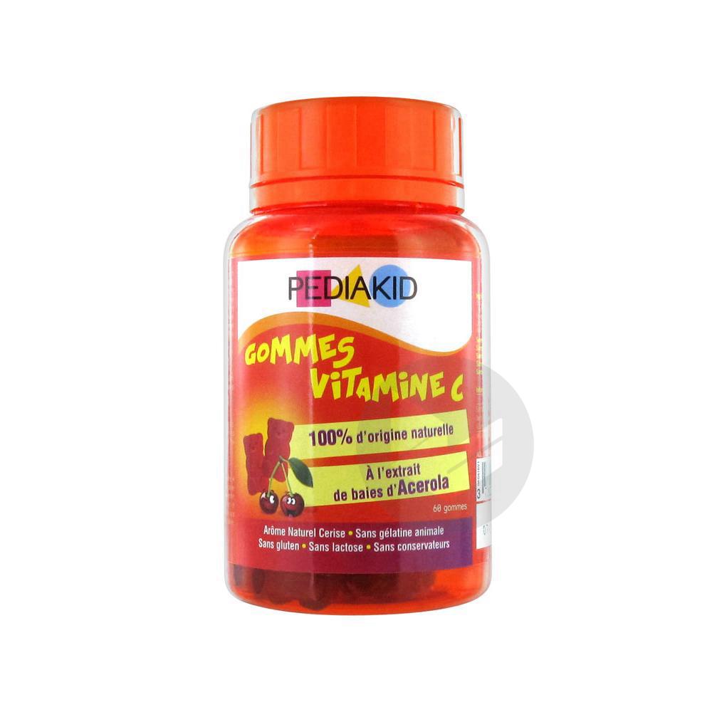Gomme Ourson Vitamine C Cerise Pilulier 60