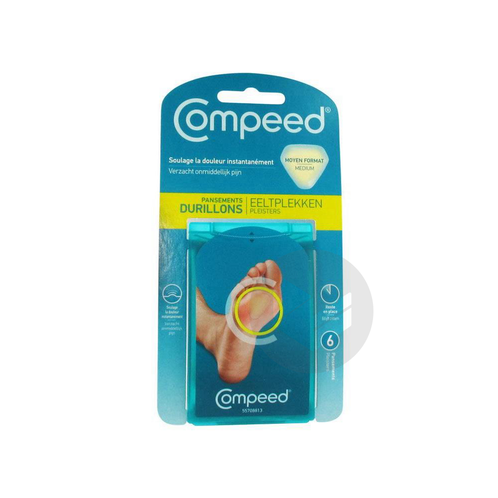 Compeed Soin Du Pied Pans Durillons B 6