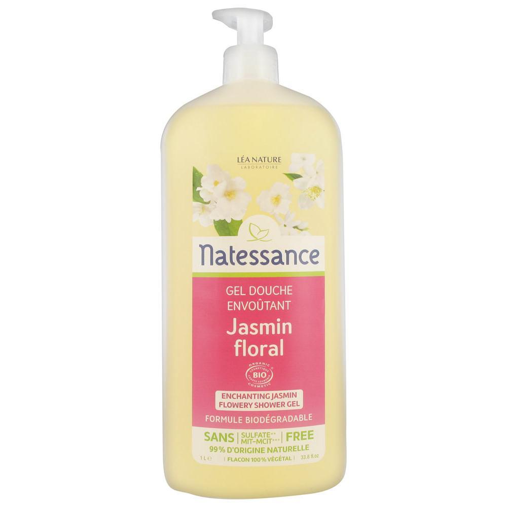 NATESSANCE GEL DOUCHE JASMIN 1L