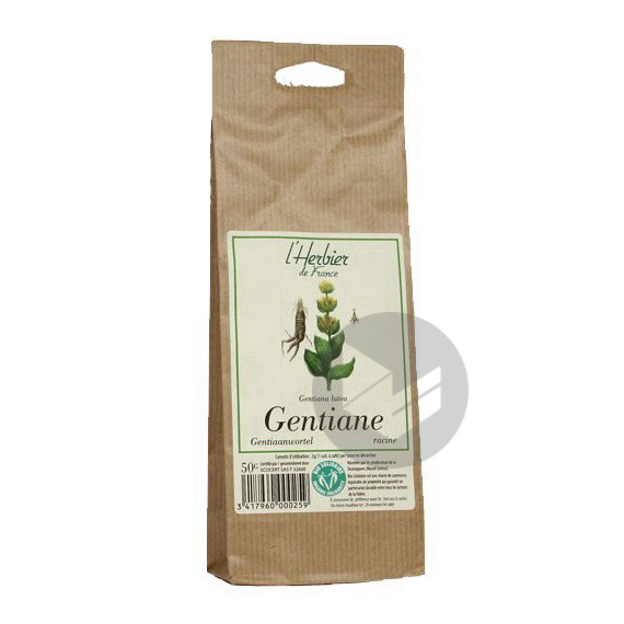 Gentiane Racine - Sachet 50 g
