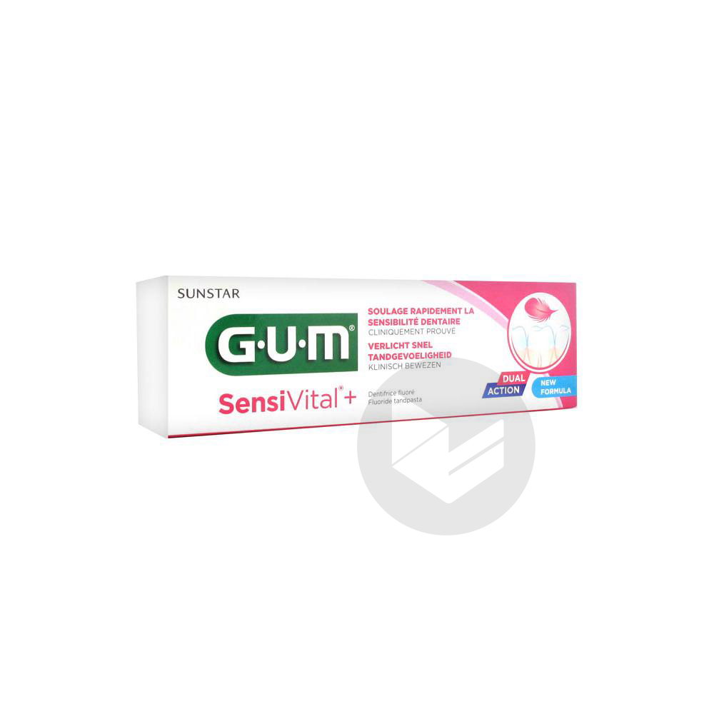 Sensivital Dentifrice Fluore 75 Ml