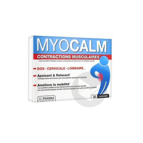 MYOCALM Cpr contractions musculaires B/30
