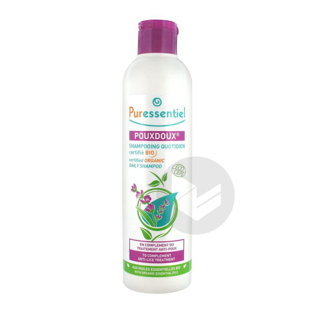 Anti Poux Shampooing Quotidien Pouxdoux Bio Fl 200 Ml