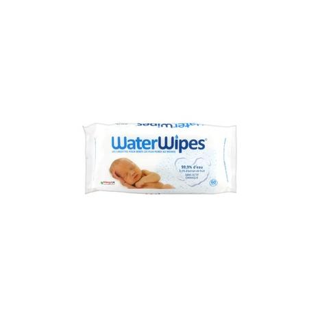 WATER WIPES SACHET 60 LINGETTES
