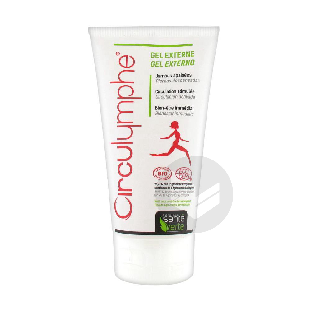 Circulymphe Gel Externe Bio Circulation T 150 Ml
