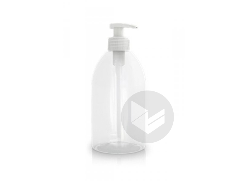 Flacon Transparent Avec Pompe 500 Ml