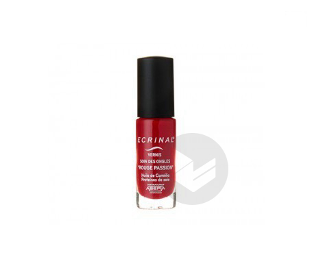 Asepta – Ecrinal Vernis Soin des Ongles Rouge Passion 6ml