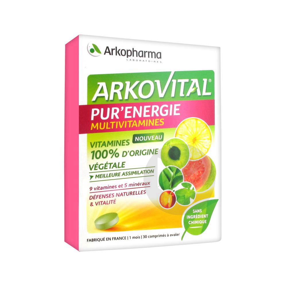 Arkovital Purenergie Multivitamines Cpr Des 6 Ans B 30