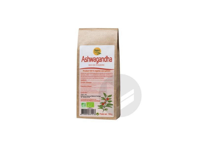 Ashwagandha en poudre Bio - 150 g