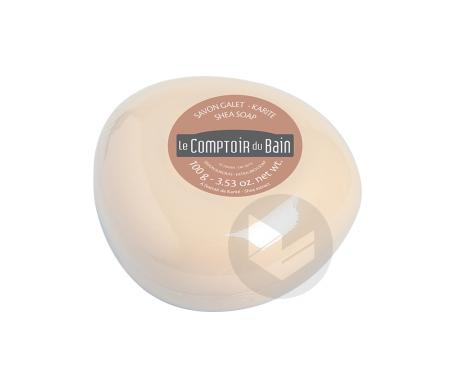 Le Comptoir du Bain Savon Galet Surgras Karité 100 g