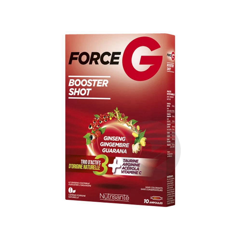 Force G Power Max S Buv Tonique 10 Amp 10 Ml