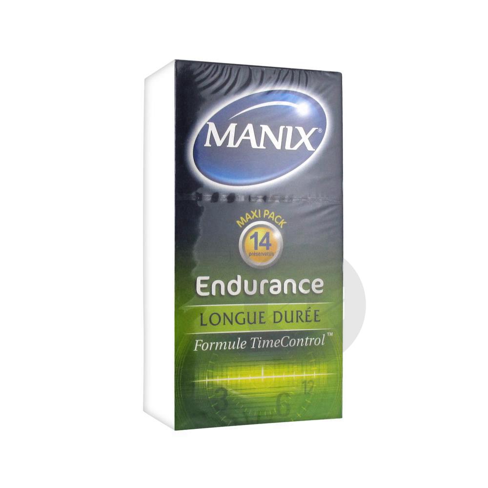 Endurance 14 Preservatifs