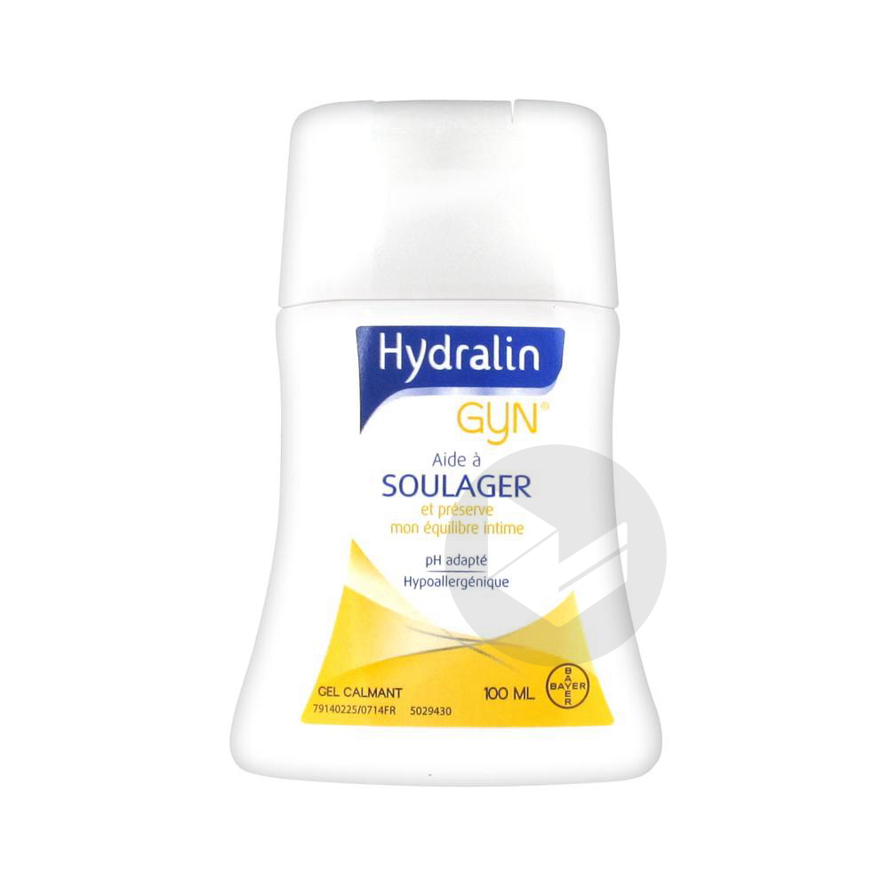 HYDRALIN GYN Gel calmant usage intime Fl/100ml