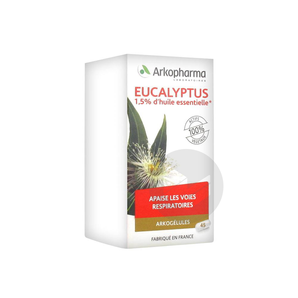 Arkogelules Eucalyptus Gel Fl 45
