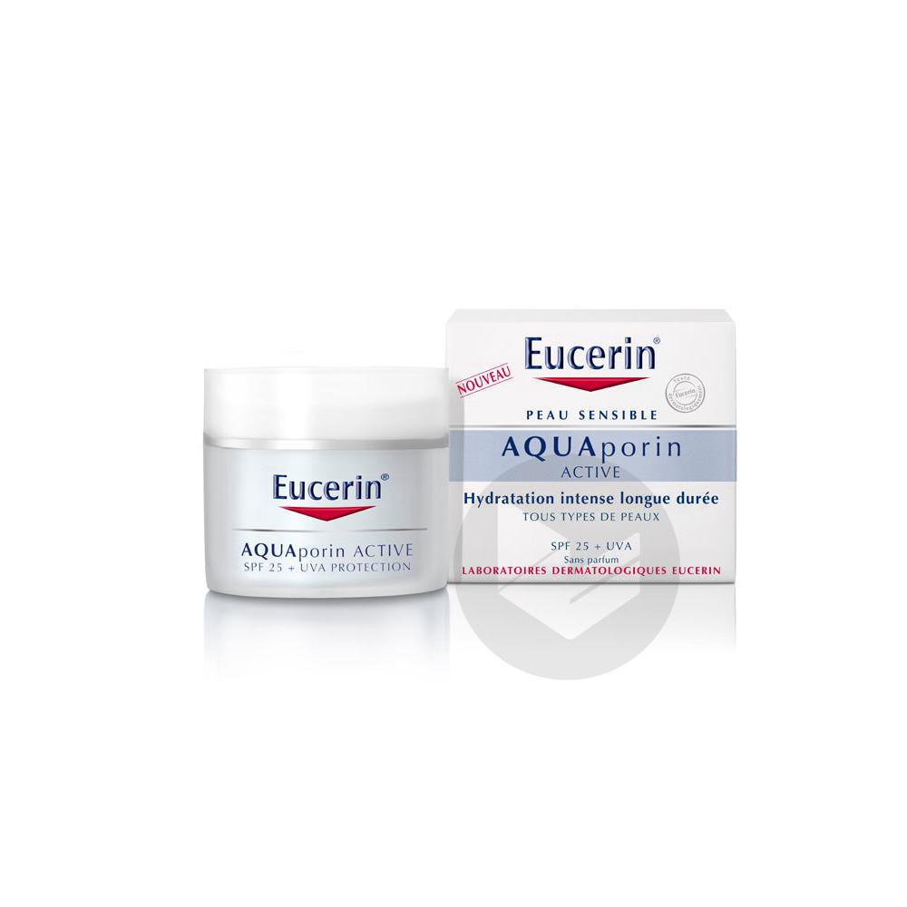 EUCERIN AQUAPORIN ACTIVE Cr soin hydratant protecteur Pot/50ml