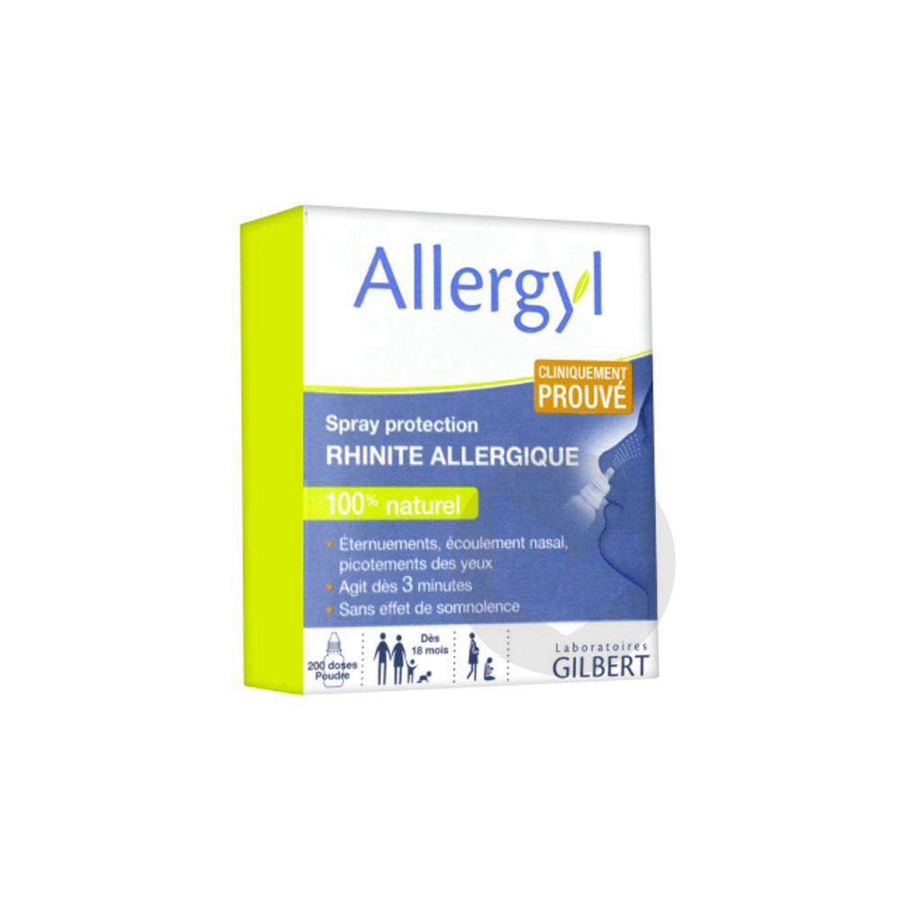 Allergyl Spray Protection Rhinite Allergique 800mg