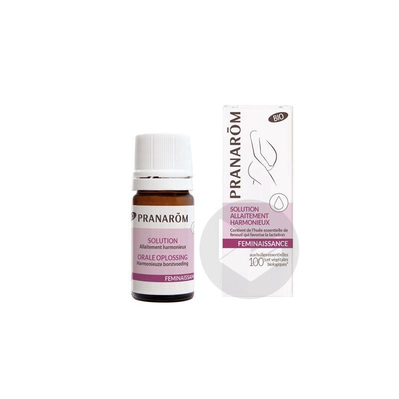 Pranarom Feminaissance Solution Allaitement Harmonieux Bio 5 Ml