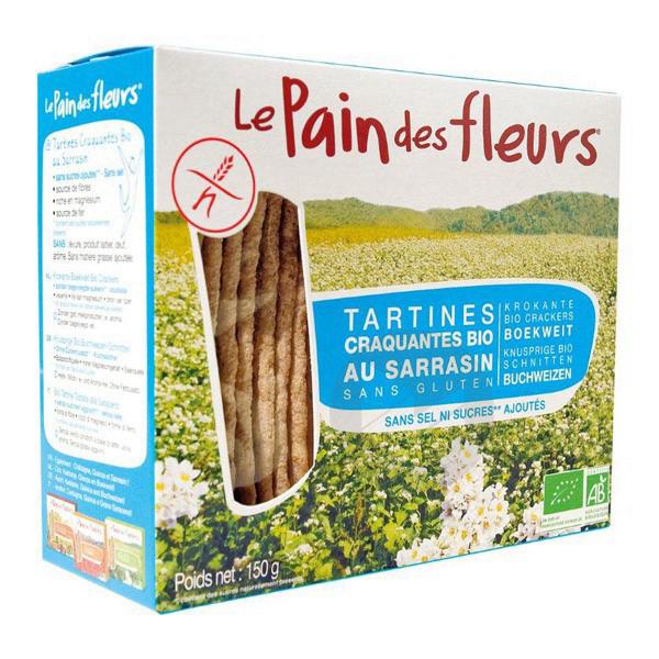 Tartines craquantes sarrasin sans sucre/sel Bio -150 g