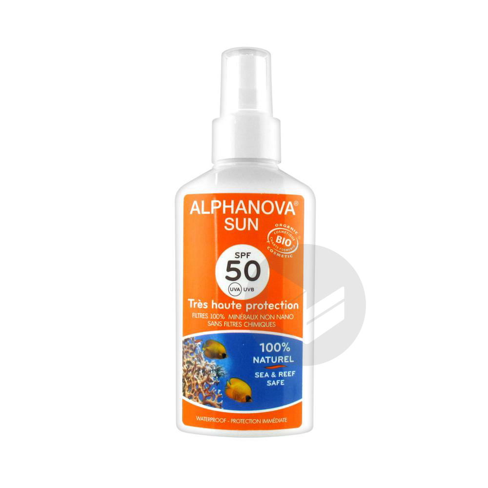 Sun Bio Spf 50 Spray F 125 Ml