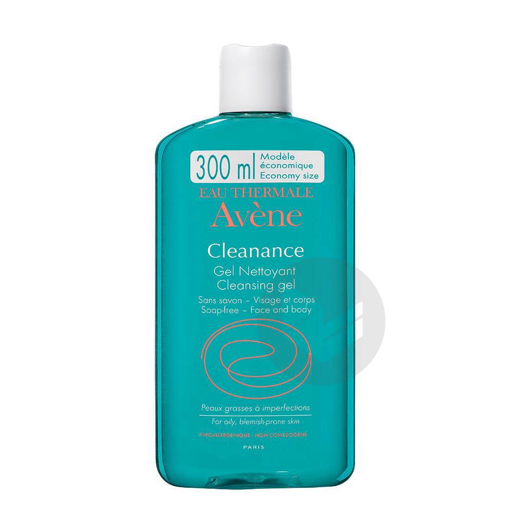Cleanance Gel Nettoyant Sans Savon Fl 300 Ml