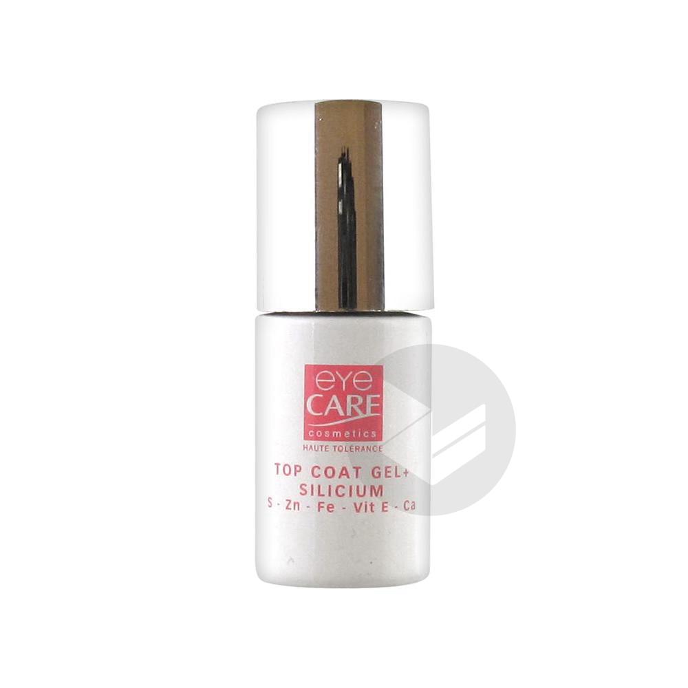 Eye Care Top Coat Gel+ Silicium 5 ml