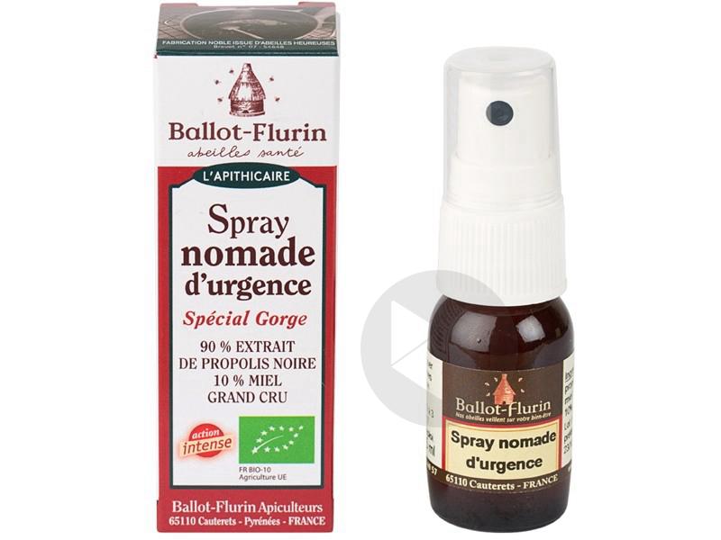 Spray Nomade d'urgence à la Propolis - 15 ml