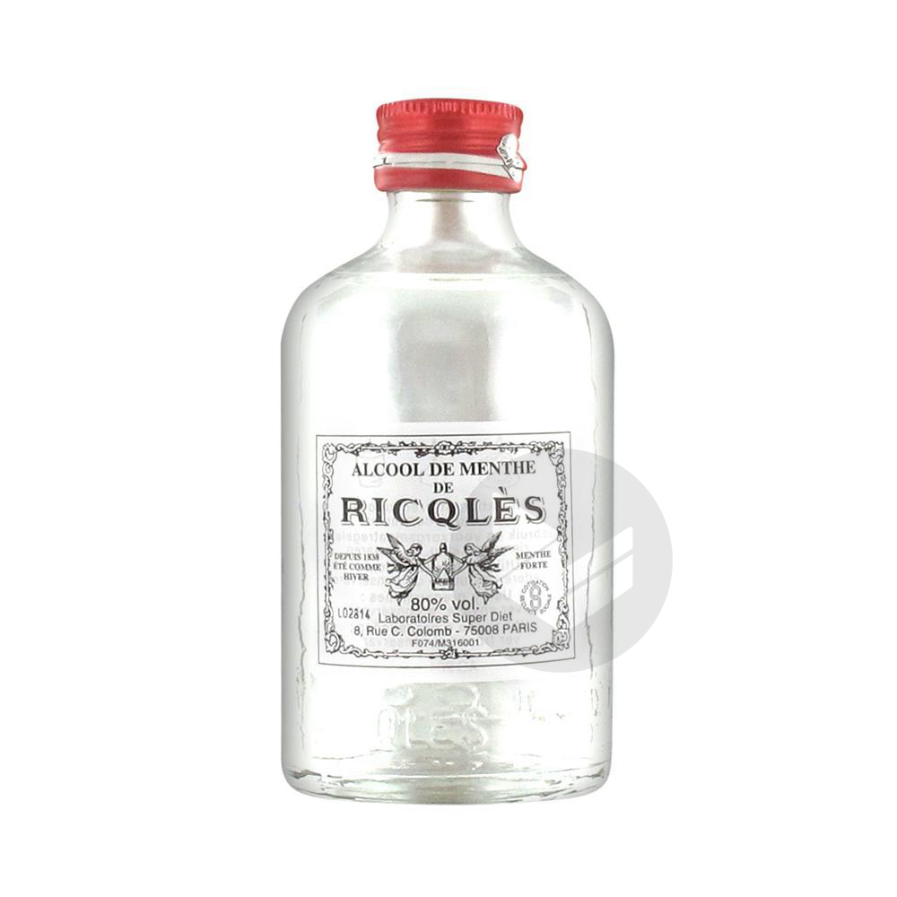 Ricqles Alcool De Menthe 100 Ml
