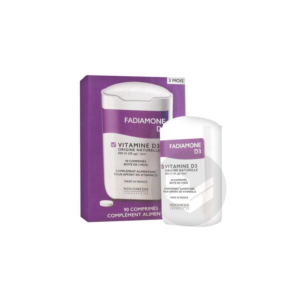 Vitamine D 3 90 Comprimes