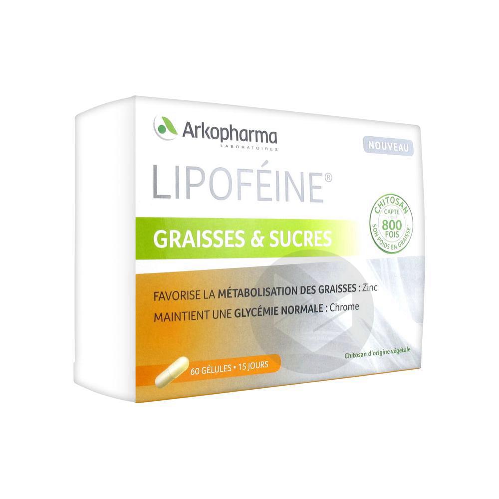 Lipofeine Graisses Et Sucres 60 Gelules