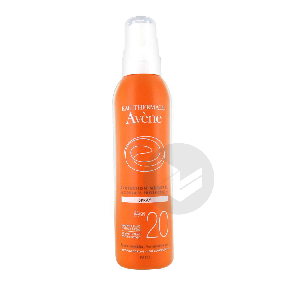 Avene Solaire Spf 20 Spray Protection Moderee Fl 200 Ml