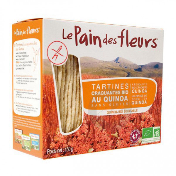 Tartines craquantes quinoa Bio - 150 g