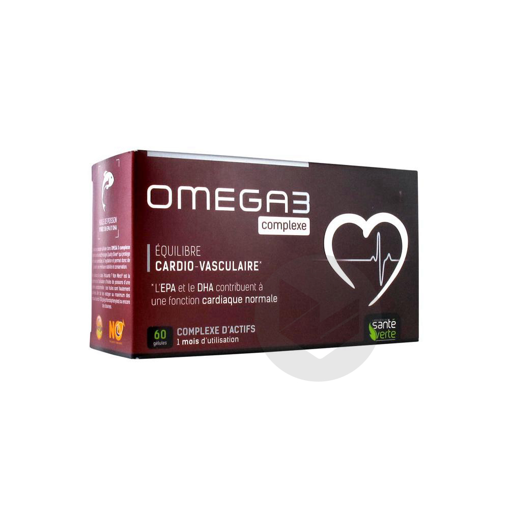 SANTE VERTE Omega 3 complexe Gél B/60