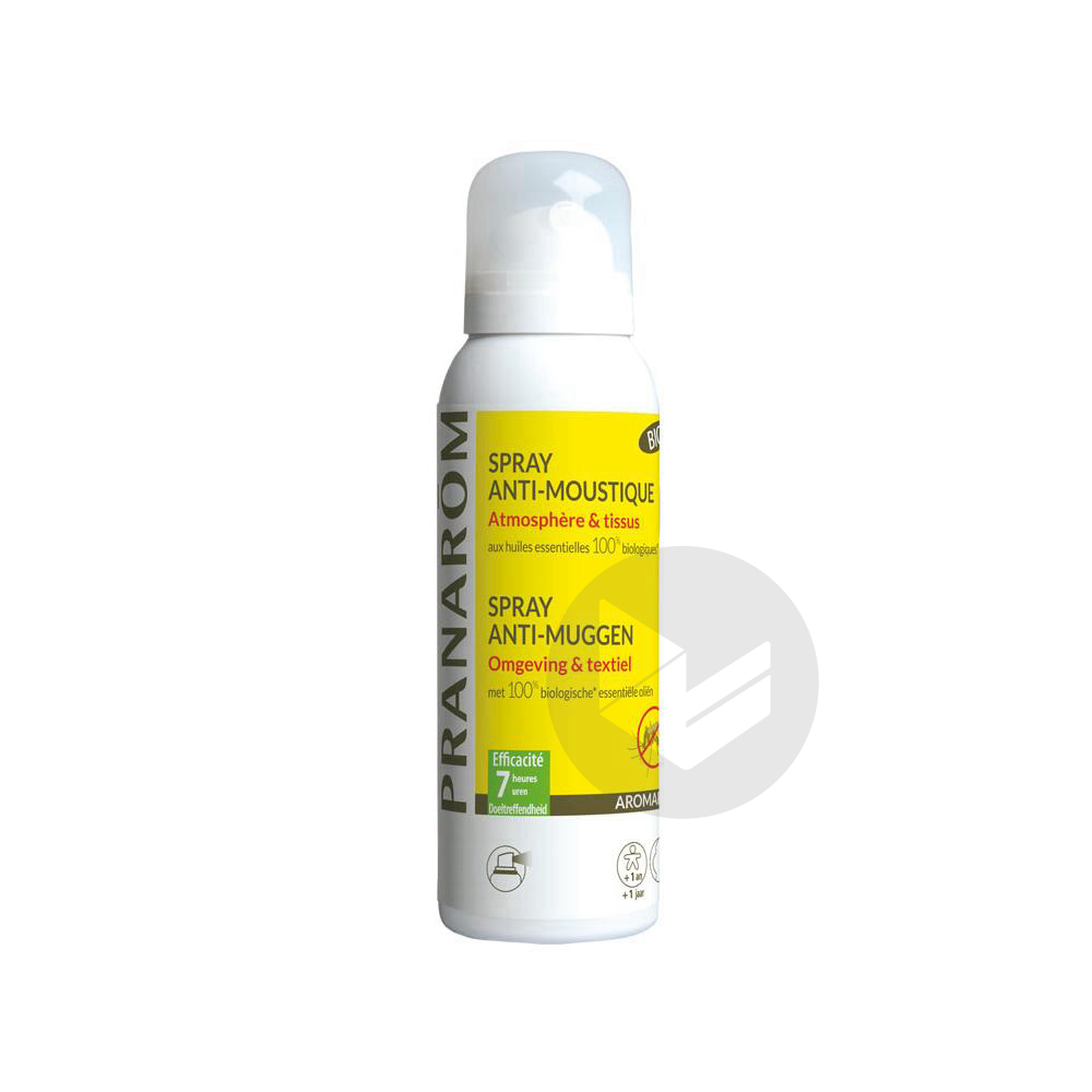 AROMAPIC Spray atmosphérique répulsif Fl/100ml