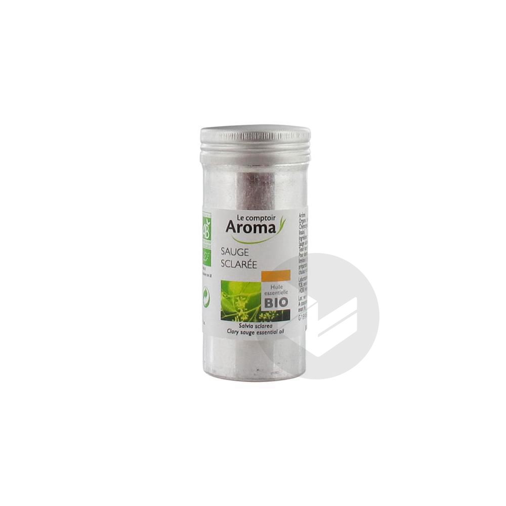 Le Comptoir Aroma Huile Essentielle Bio Sauge Sclarée 5 ml