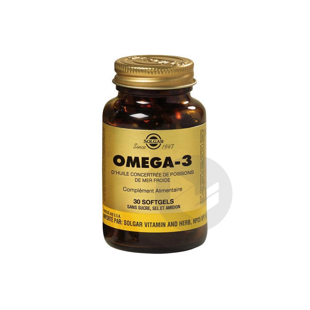 Omega 3 Caps Pot 30