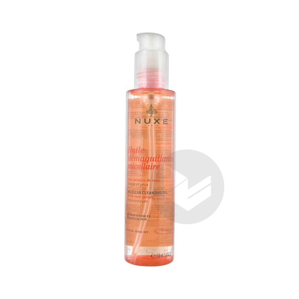 NUXE Huile démaquillante micellaire aux Pétales de Rose Spray/150ml