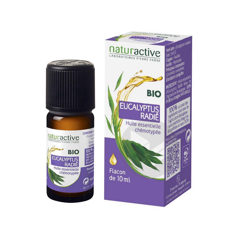 Huile Essentielle Bio Eucalyptus Radiata Fl 10 Ml