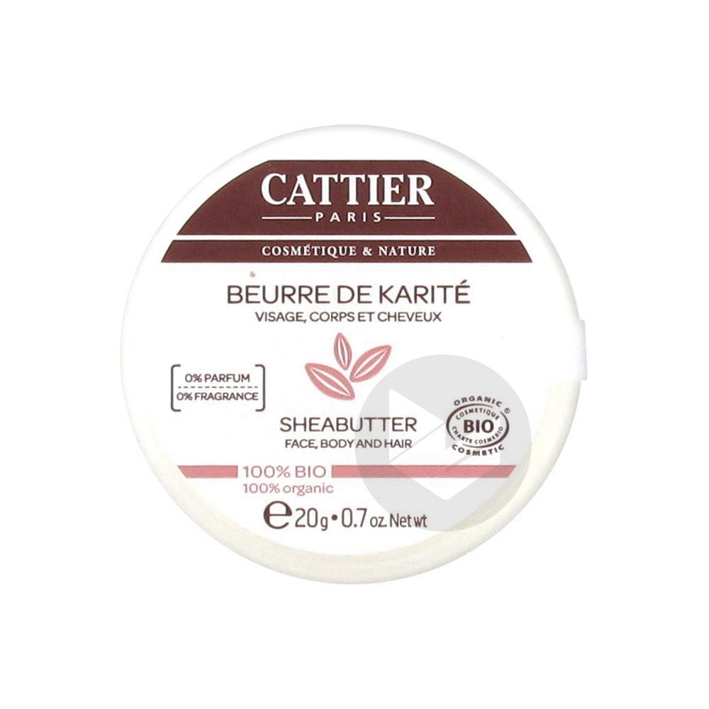 CATTIER Beurre de Karité Pot/20g