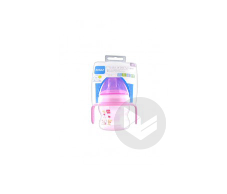 Tasse A Bec Souple Silicone 6 M 150 Ml Fille