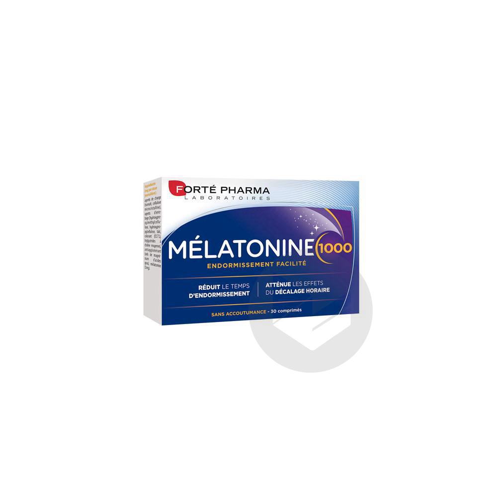 Forte Pharma Melatonine 1000 30 Comprimes