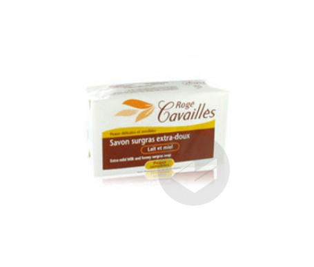 Rogé Cavaillès Savon Surgras Extra-Doux Lait et Miel 250 g