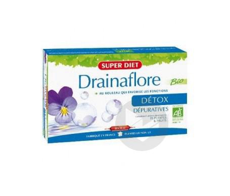 Drainaflore Bio 20 Ampoules