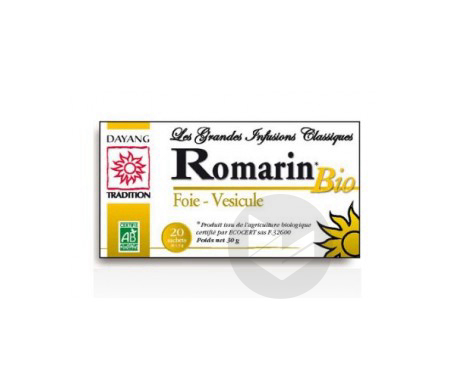 Infusion Romarin Bio 20 Sachets
