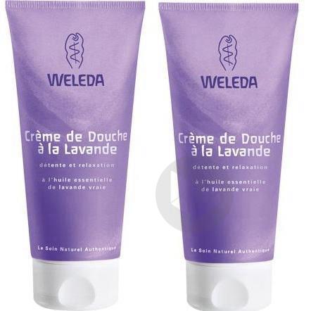 WELEDA SOINS CORPS Cr de douche Lavande 2T/200ml