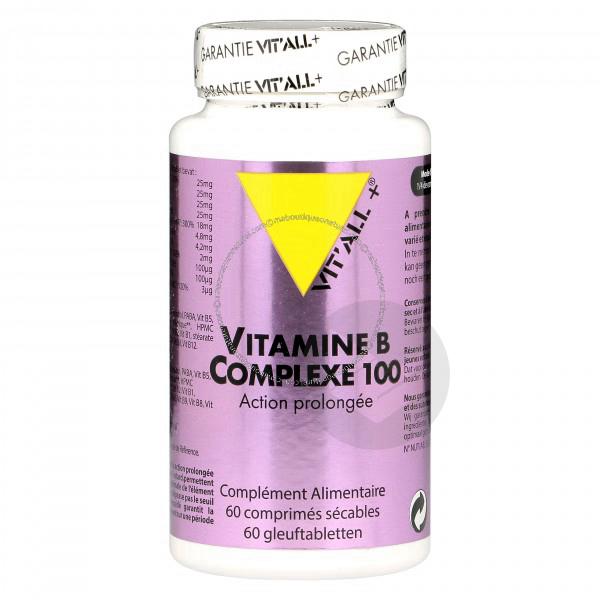 Vitamine B Complexe 100 - 60 comprimés