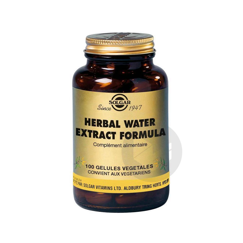 HERBAL WATER FORMULA Gél Pot/100