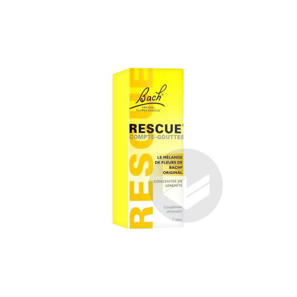 Rescue Elixir Floral Fl Cpte Gttes 10 Ml