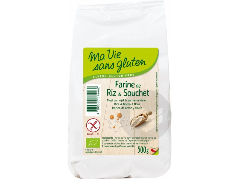 Farine de riz & souchet Bio- 500 g