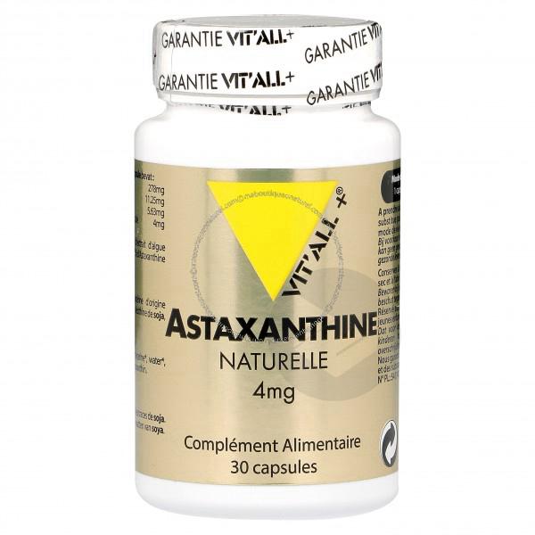 Astaxanthine Naturelle 4 Mg 30 Capsules