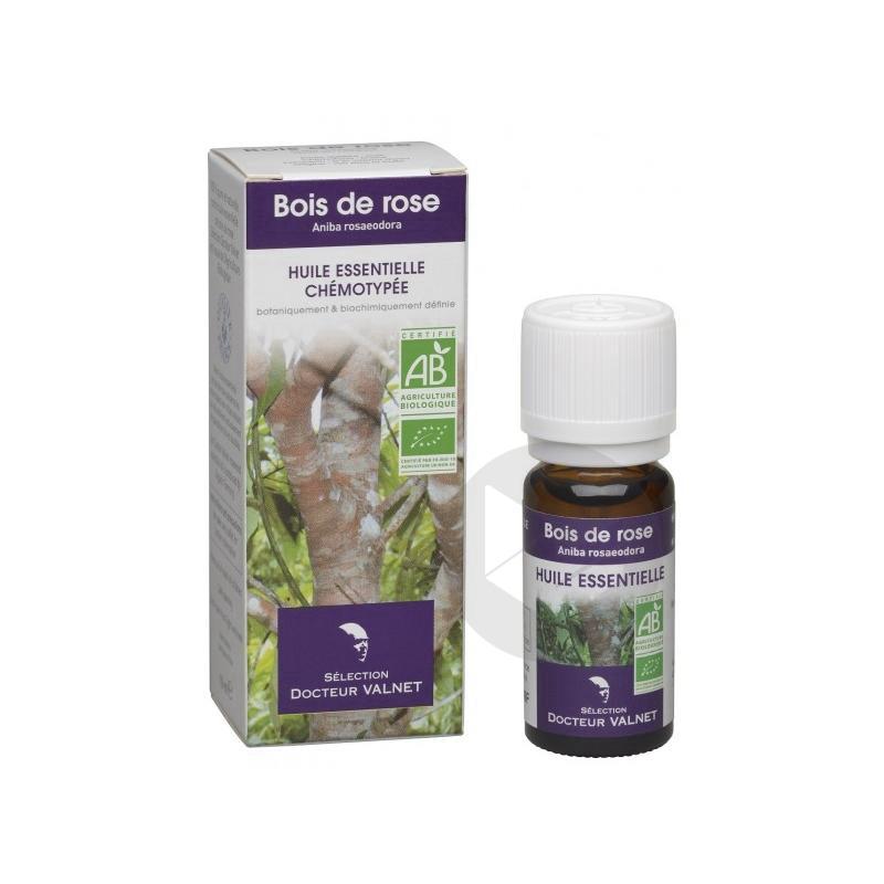 DOCTEUR VALNET Huile essentielle bio Bois de Rose Fl/10ml